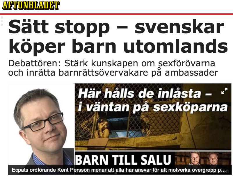 Sätt stopp - svenskar köper barn utomlands