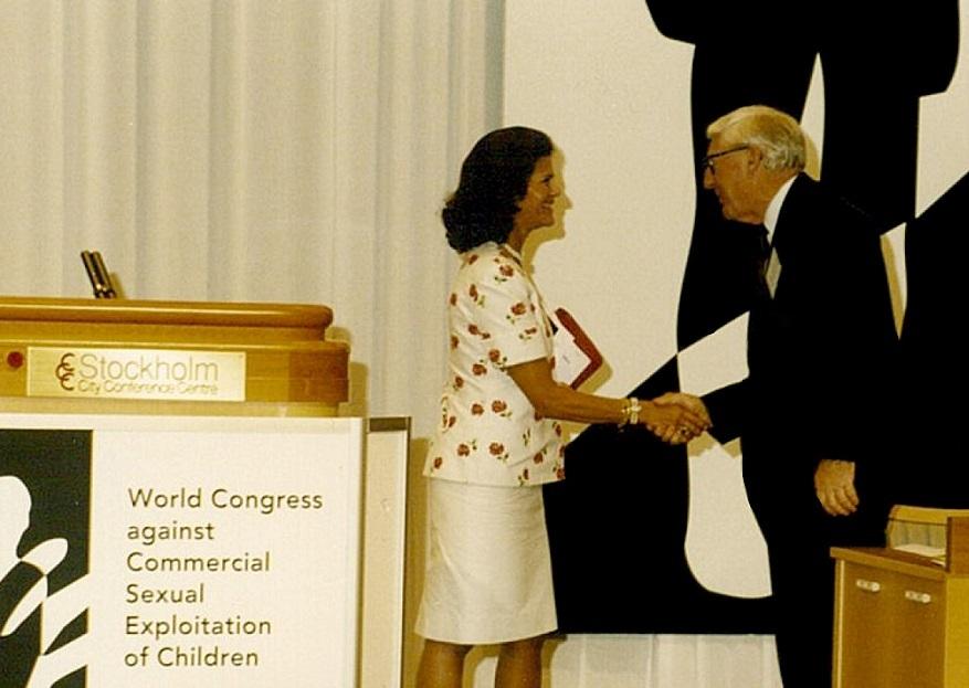 ECPAT Sveriges beskyddare: Hennes Majestät Drottning Silvia