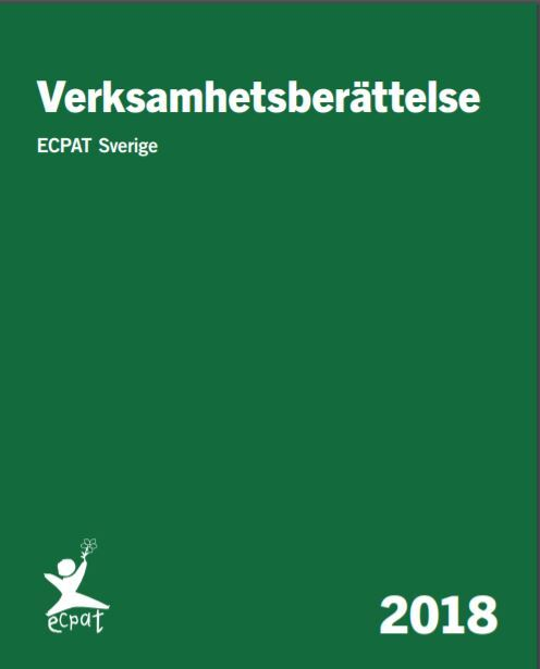 Verksamhetsberättelse ECPAT Sverige