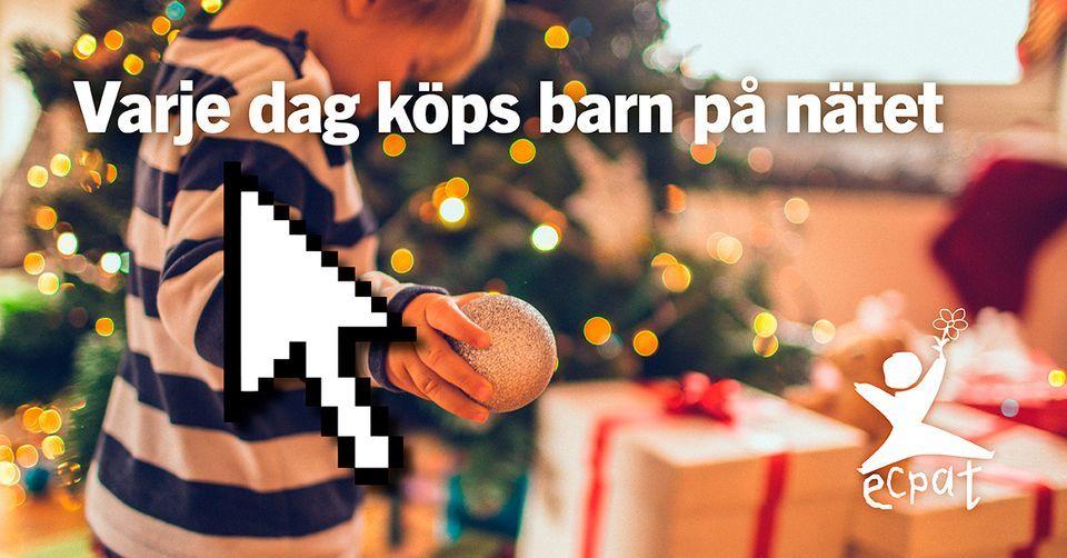 ECPAT Sverige julkampanj