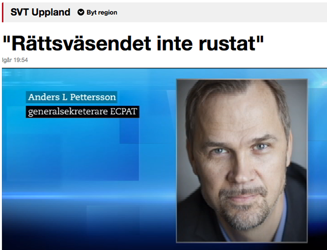 Pettersson ny chef for ecpat sverige
